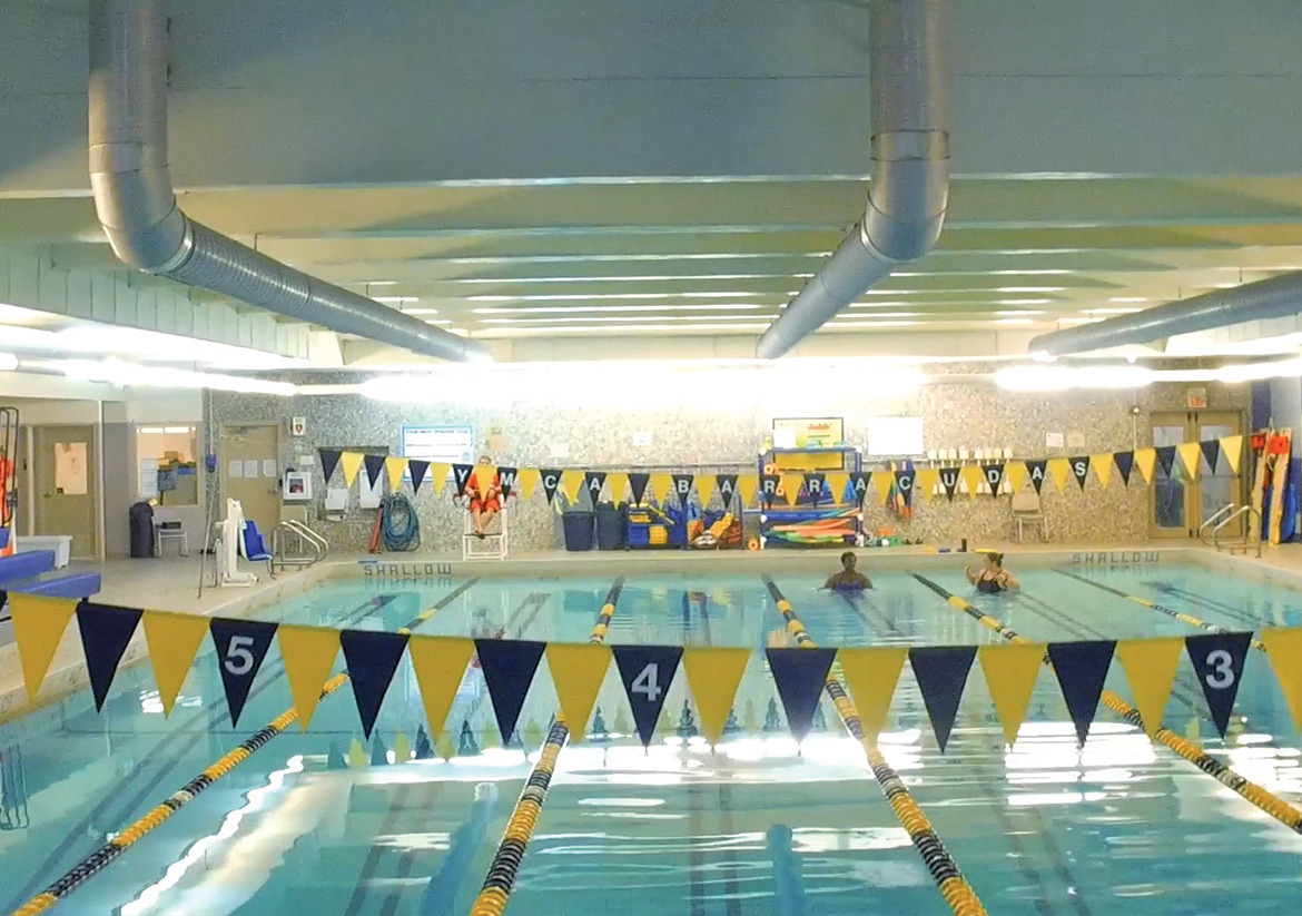 Waterbury YMCA indoor pool